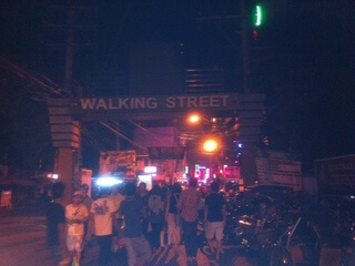 クラークのウォーキングストリート