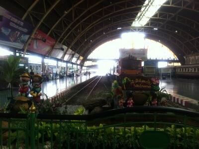 バンコクのファラボーン駅
