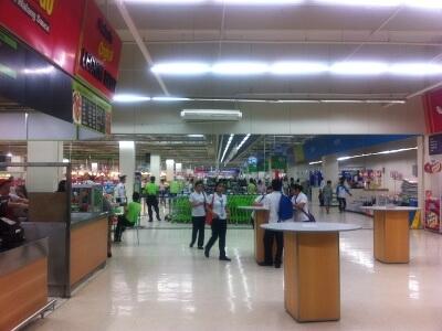 セブ島のショッピングモール