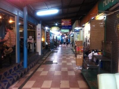 バンコクのショッピングアーケード