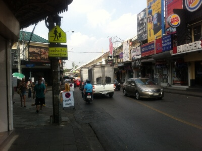 バンコクのタナオ通り
