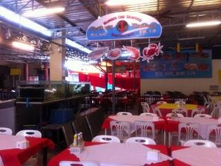 パトンビーチのレストラン