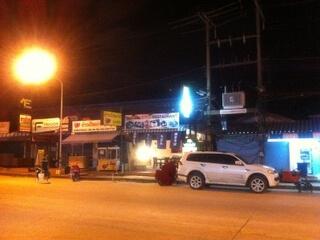 パトンビーチのPrachanukhro通り