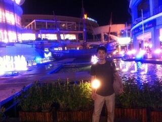 パトンビーチのショッピングモール