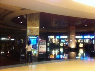 パトンビーチの映画館