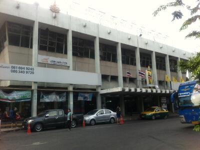 バンコクの東バスターミナル