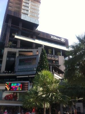 パタヤ―のヒルトンホテル