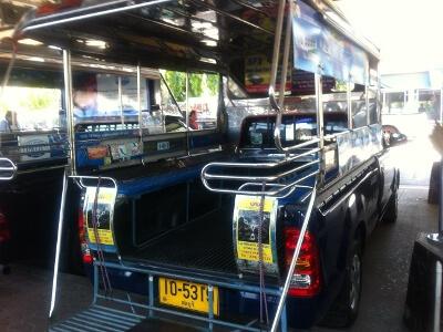 パタヤ―の簡易タクシー