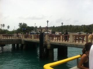 ピピ島のフェリー乗り場