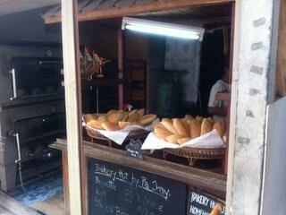 ピピ島のパン屋