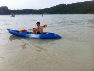 ピピ島のカヌー