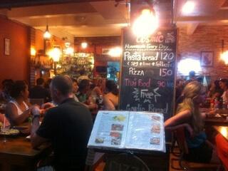 ピピ島のレストラン