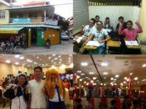 カンボジアのボランティア
