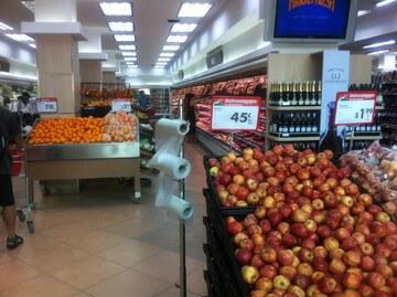 プノンペンのスーパーマーケット