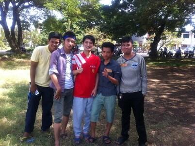 カンボジアの運動会