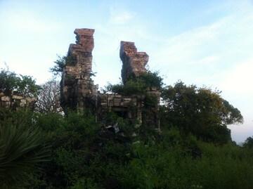 シェムリアップ郊外のプノンボック