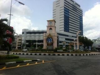 プーケットタウンの時計塔