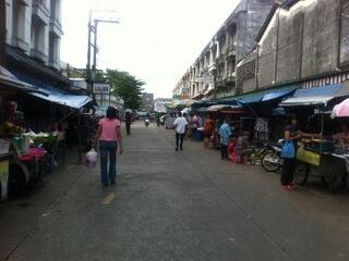 プーケットタウンのマーケット