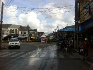 プーケットタウンのRanong通り
