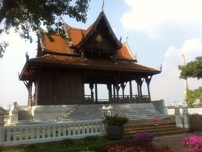 バンコクのプラ・スメン塔