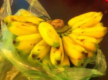 シェムリアップのバナナ