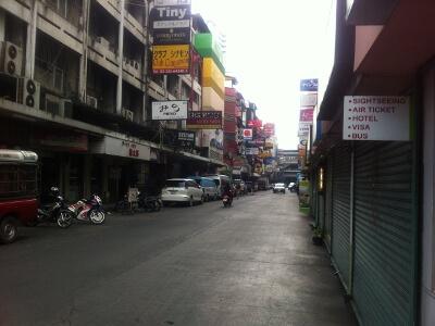 バンコクのタニヤ通り&パッポン通り