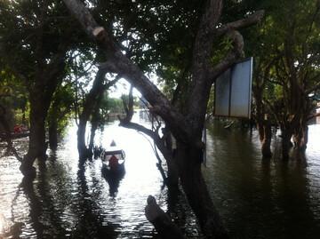トンレサップ湖のボートツアー