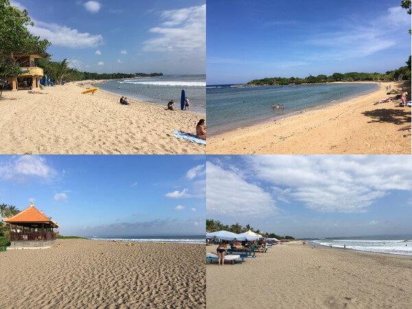 バリ島のビーチ観光