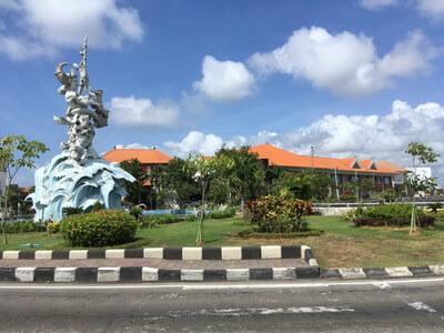 バリ島のDFSバスターミナル