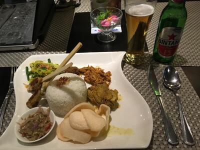 カナクタホテルで食べたバリ料理
