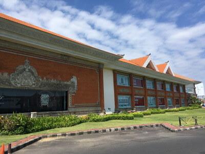 バリ島のショッピングモール