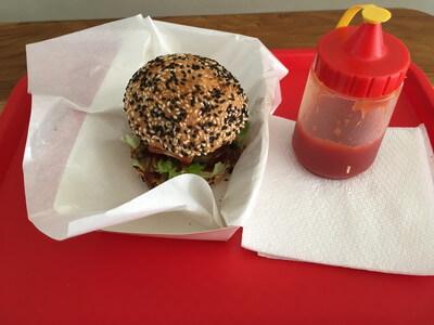 バリ島のハンバーガー