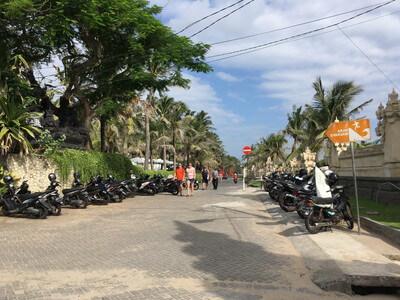 バリ島のレギャンビーチ