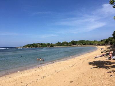バリ島のヌサドゥアビーチ