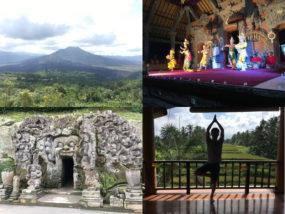 バリ島でウブド観光とヨガ