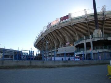 ブルームフォンテーンのサッカースタジアム