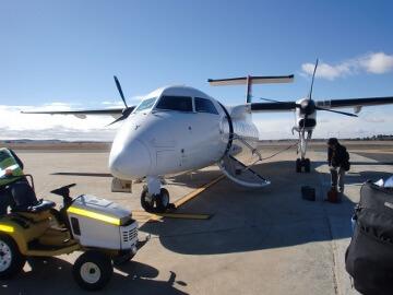 南アフリカ航空の小型飛行機