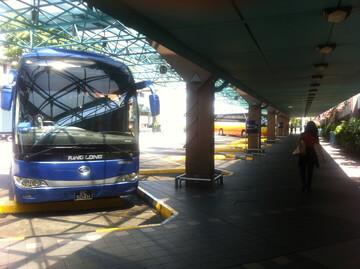 ジョホールバル行きのバス