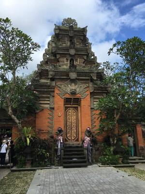 バリ島のダラム・ウブド寺院