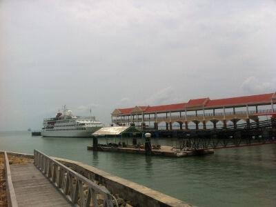 ランカウイ島行きフェリー乗り場