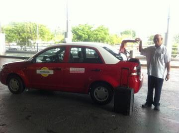 ジョージタウンのタクシー