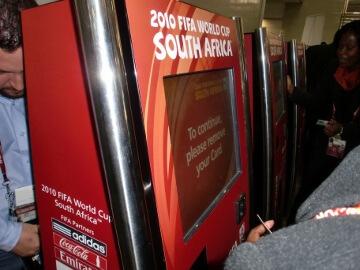 南アフリカのヨハネスブルグ空港