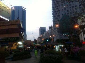ジョホールバルのマーケット