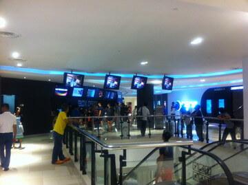 ジョホールバルの映画館