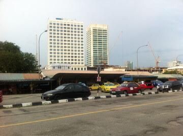 ジョホールバルのバスターミナル