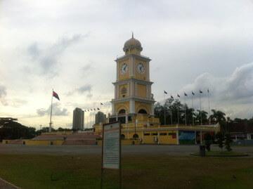 ジョホールバルの時計塔