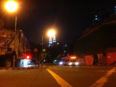 クアラルンプールのツインタワー