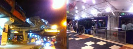 クアラルンプールのブキッ・ナナス駅