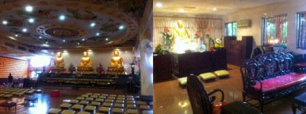 クアラルンプールの中国寺