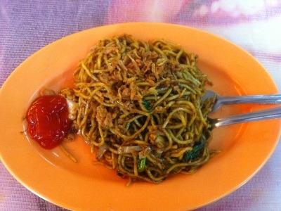 マレーシア料理のミーゴレン